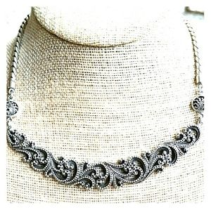 Lois Hill .925 sterling silver necklace.